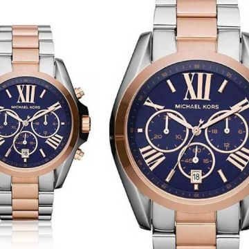 Tick tock, time is running out for you to check out this Ladies' Michael Kors two-tone Bradshaw MK5606 watch deal!