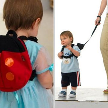 £5.99 (from The Electronic Store) for a children's harness backpack