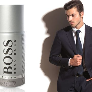 £12.50 instead of £21.50 for a 150ml bottle of Hugo Boss 'BOSS Bottled' deodorant spray - save 42%