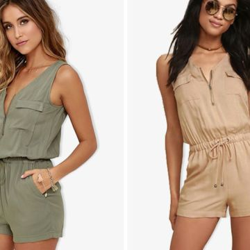 £8.99 instead of £39.99 (from Blu Fish) for a military playsuit – choose from two colours and save 78%