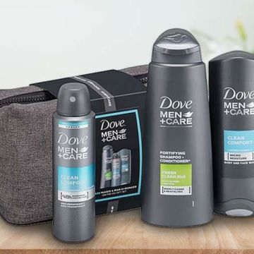 From £4 instead of £19.99 (from Avant Garde) for a Dove Men + Care gift set - save 80%