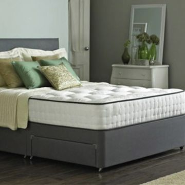 From £79 (from Dining Tables) for a Taylor divan bed with memory foam mattress - choose from six sizes, drawer options and two colours while saving up to 83%