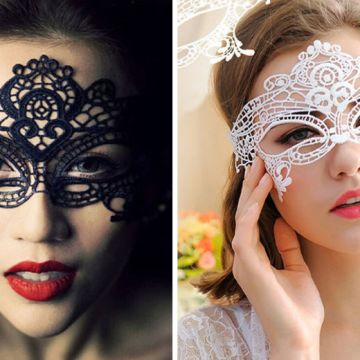 £3 instead of £19.99 (from BluFish) for a Halloween party eye mask - choose from nine designs and save 85%
