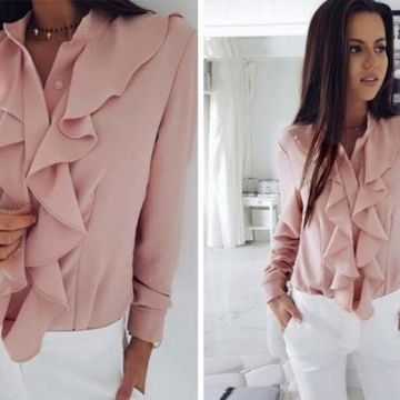 £7.99 instead of £29.99 (from MBLogic) for a long sleeved ruffle shirt coming in 3 sizes and 3 colours - saving you 73%