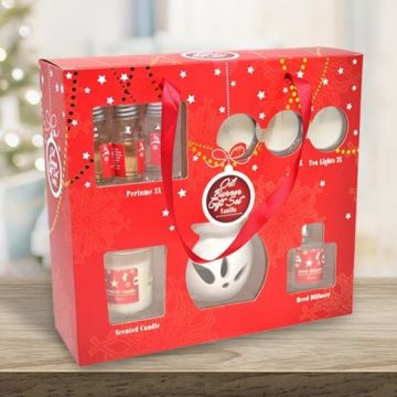 £6.99 instead of £39.99 (from Direct2Publik) for a nine-piece ceramic oil burner gift set - save 83%