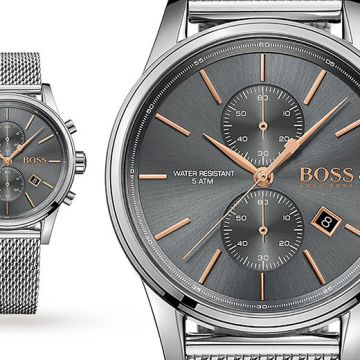 £129 instead of £399 (from Hip Watches) for a mens Hugo Boss HB1513440 stainless steel watch - save 68%