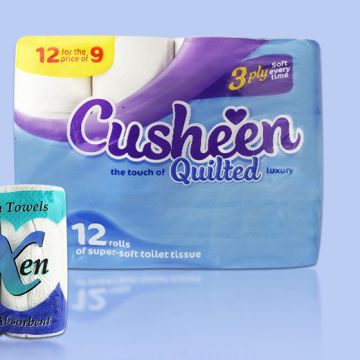 From £19.99 for 60 Cusheen Toilet Rolls & 24 Kitchen Rolls from Global Merchant Support - save up to 67%