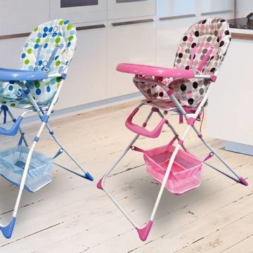 £29 instead of £62.01 (from Product Mania) for a baby high chair - choose from blue or pink and save 53%