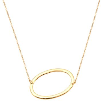 Go to Product: Oversized Initial Pendant Necklace - O
