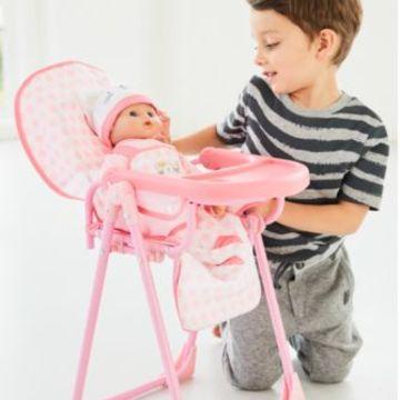 Cupcake Highchair | baby dolls & accessories | ELC