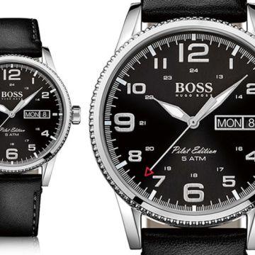 £109 (from Watch-Jewel) for a Hugo Boss men's pilot watch