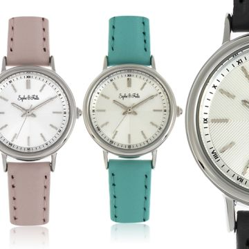 £39 instead of £180 (from Sophie and Freda) for a 'Berlin Collection' ladies watch – choose from six designs and save up to 78%