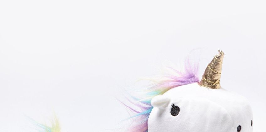 Light Up Unicorn Slippers from Studio