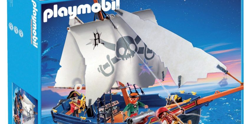 Playmobil Pirate Ship from Studio