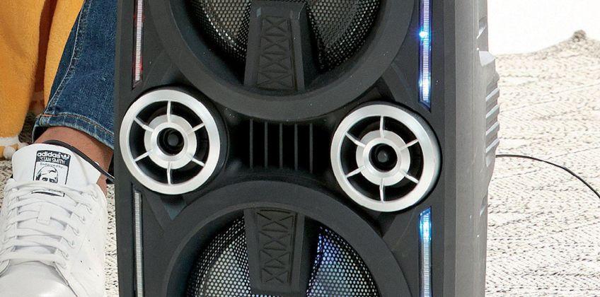 Mega Bass Bluetooth Party Karaoke Speaker from Studio