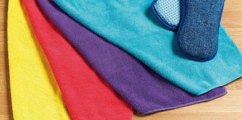 6 Piece Kitchen Cleaning Cloths from Studio