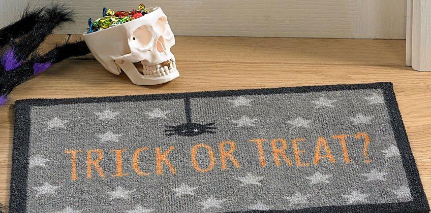 Trick or Treat Halloween Doormat from Studio
