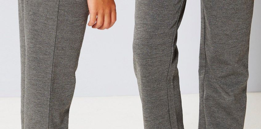 Pack of 2 Girls Grey Ponte Trousers from Studio