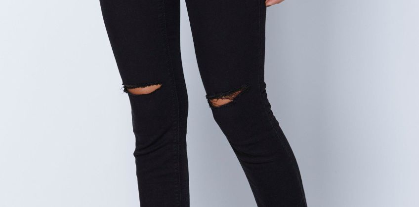 Ripped Jeggings from Studio