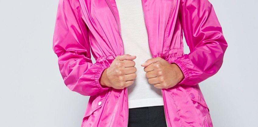 Bright Pink Pac-a-Mac from Studio
