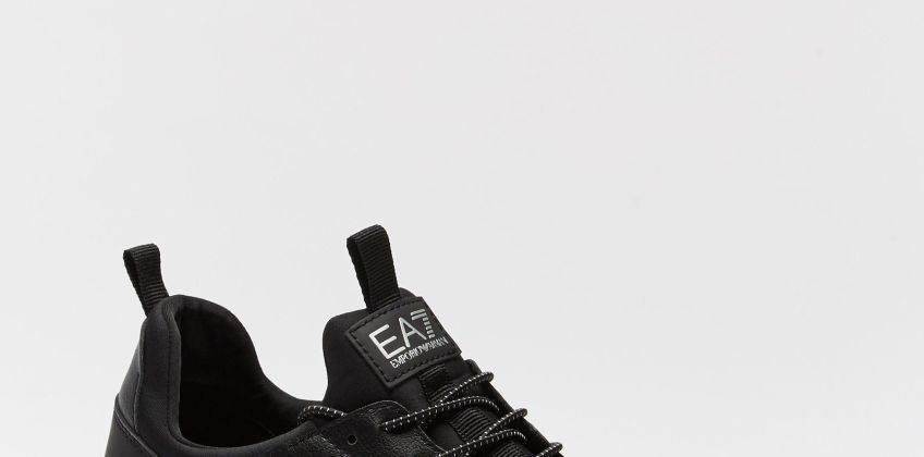 EA7 Simple Racer Woven U Trainers from Studio