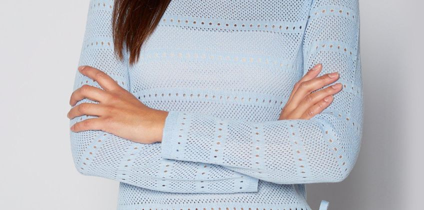Pointelle 2-in-1 Jumper from Studio