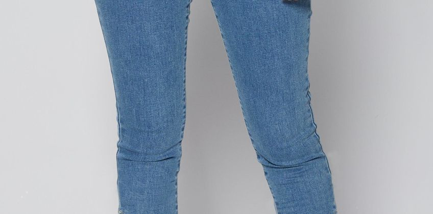 Eyelet Detail Jeans from Studio