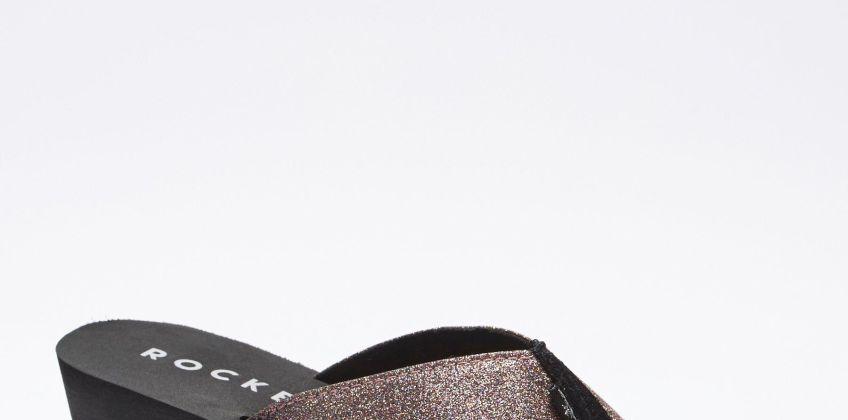 Rocket Dog Diver Glitter Toe Post Wedge Sandals from Studio