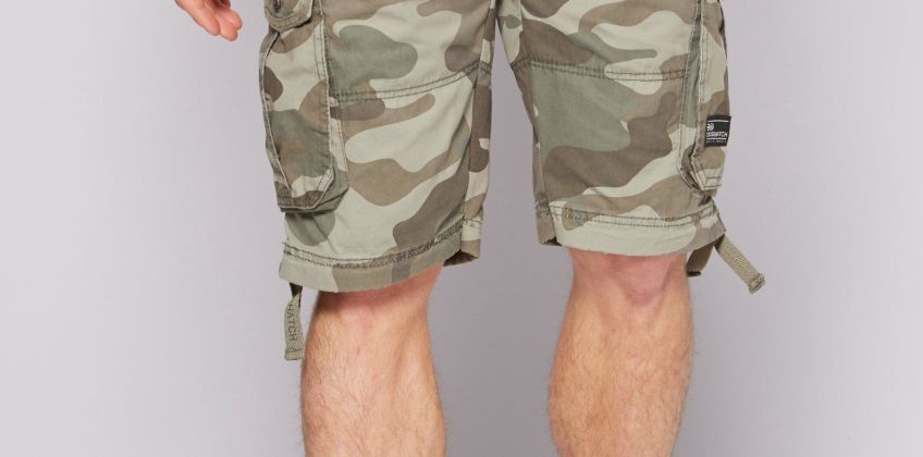 Crosshatch Jimster Cargo Shorts from Studio