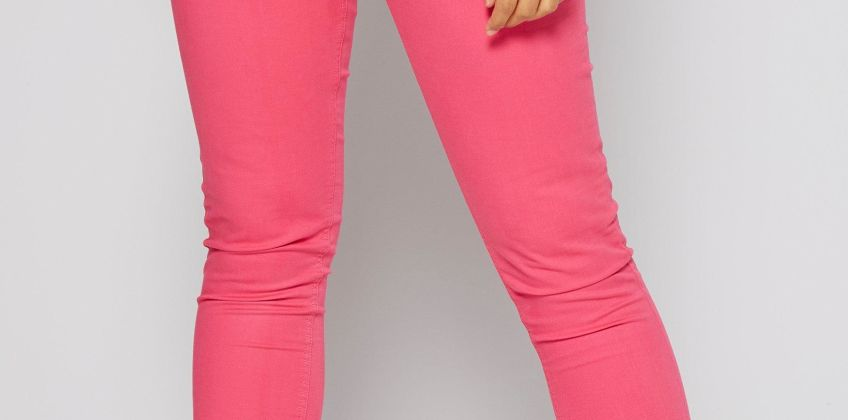 Skinny Fit Coloured Trousers from Studio