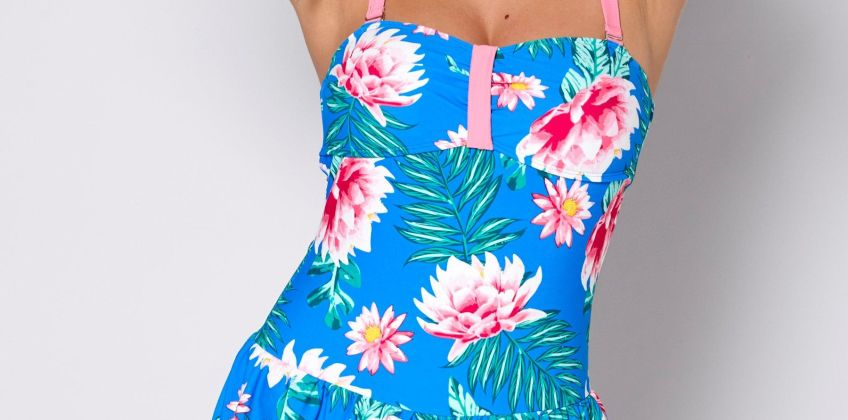 Floral Frenzy Skirted Swimsuit from Studio