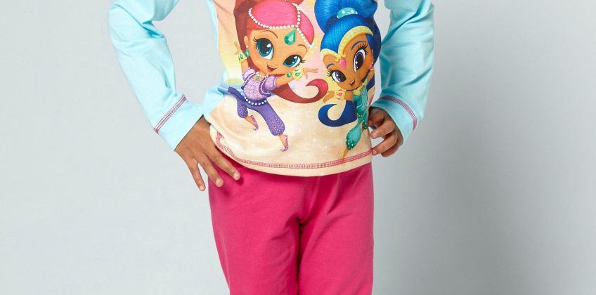 Younger Girls Shimmer and Shine Boom Zahramay Pyjamas from Studio