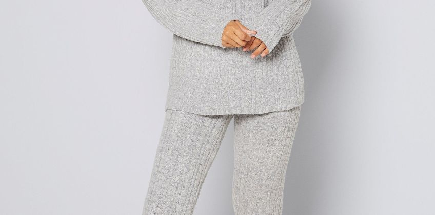 Roll Neck Co-ordinating Set from Studio