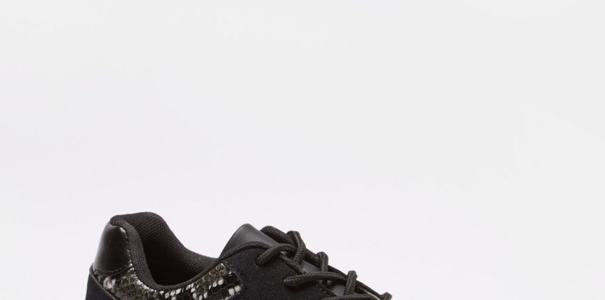 Chunky Sole Lace-Up Trainers from Studio