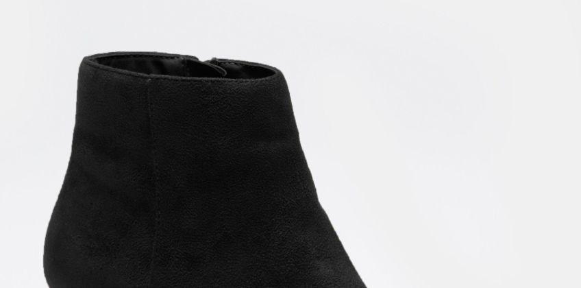 Block Heel Ankle Boots from Studio