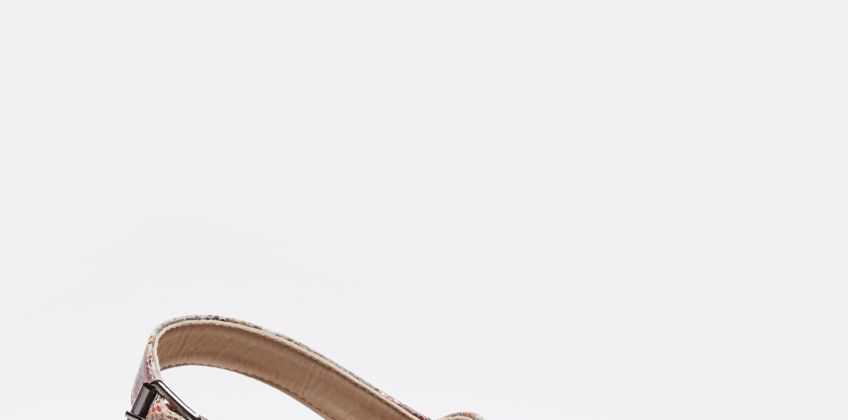 Dr Keller Flower Print Cross Strap Sandals from Studio