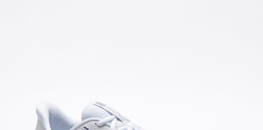 Nike Revolution 5 White Pure Platinum Trainers from Studio
