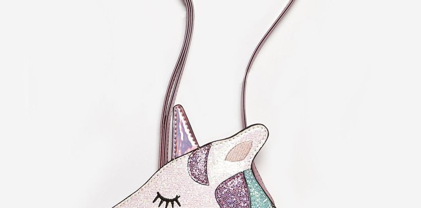 Girls Unicorn Heart Bag from Studio