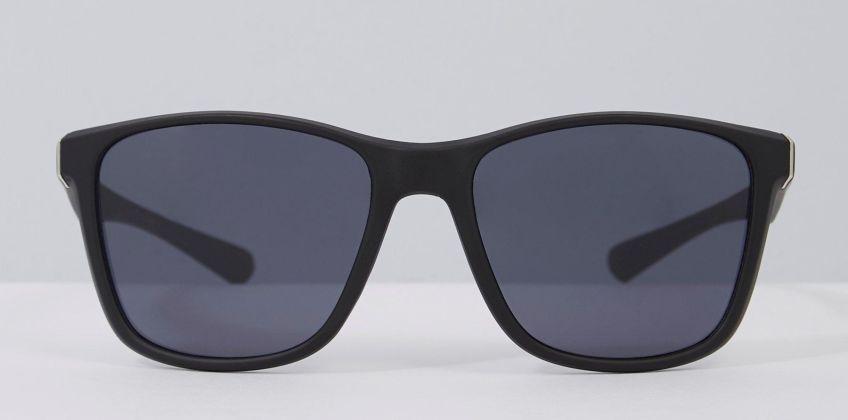 Black Plastic Wayfarer Sunglasses from Studio