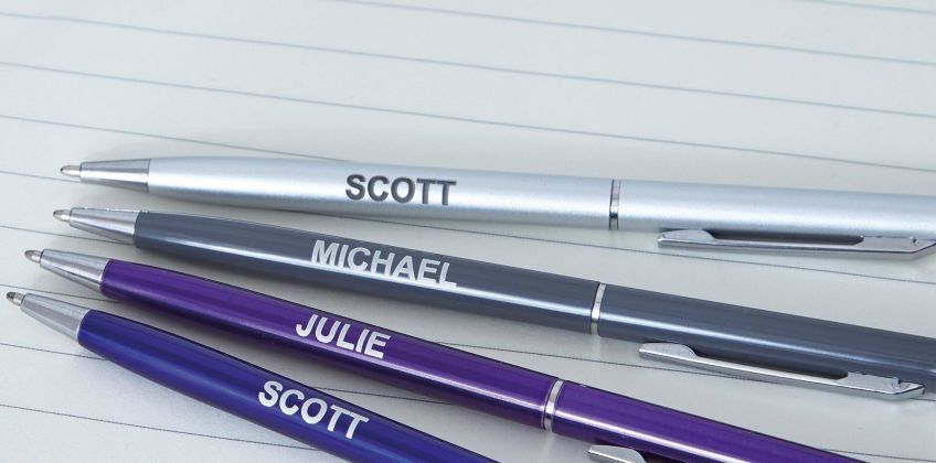 Personalised Ball Point Pen from Studio