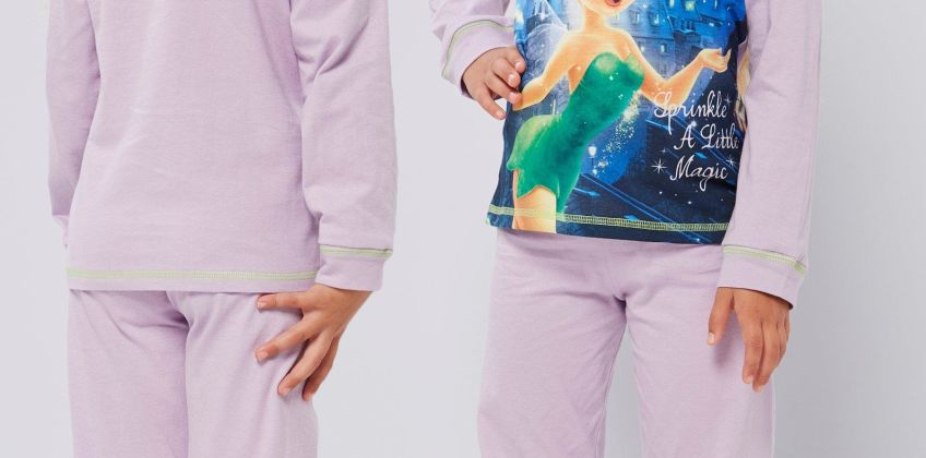Girls Personalised Tinker Bell Pyjamas from Studio