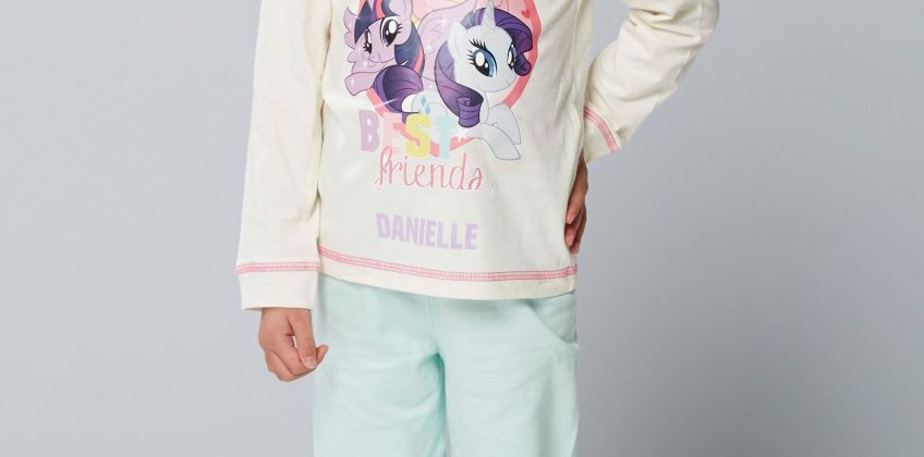 Younger Girls Personalised My Little Pony Best Friends Pyjamas from Studio