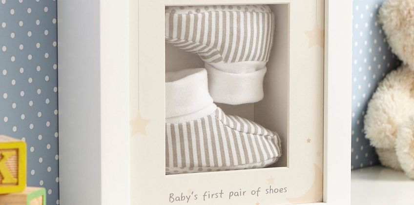 Personalised My 1st Booties Box from Studio
