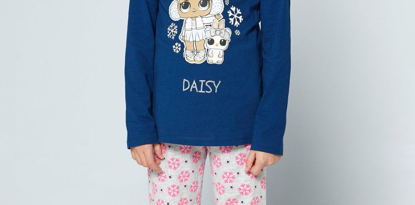 Girls L.O.L. Surprise Holiday Chillin Christmas Pyjamas from Studio