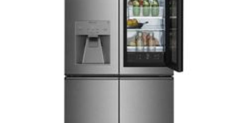 Signature Instaview LSR100 Smart 60/40 Fridge Freezer - Stainless Steel from Currys