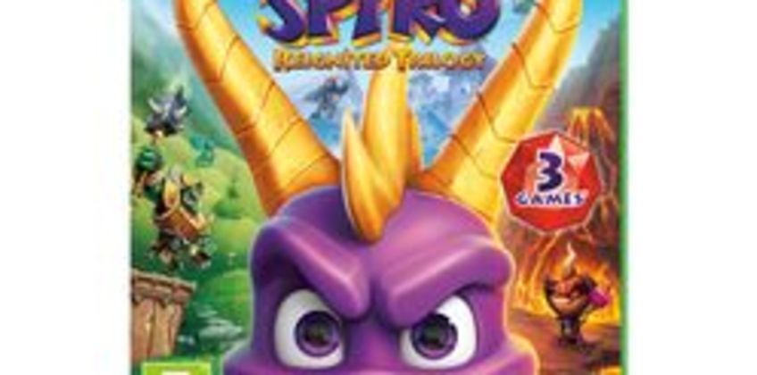 Spyro Trilogy Reignited from Currys