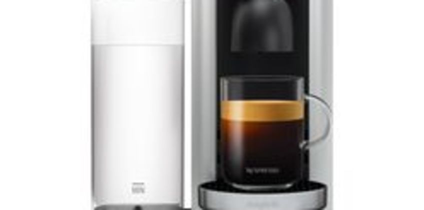 by Magimix Vertuo Plus M600 Coffee Machine - Silver from Currys