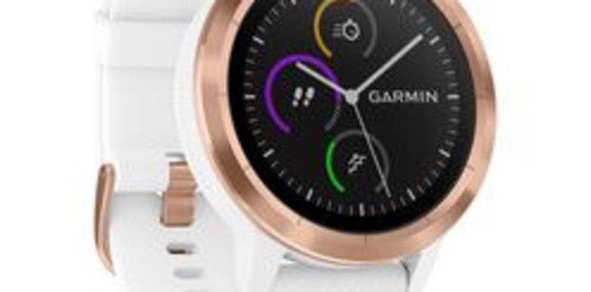 vivoactive 3 - White & Rose Gold from Currys