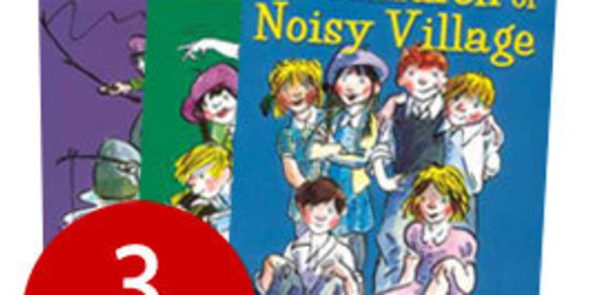 Astrid Lindgren's Noisy Village Collection - 3 Books from The Book People