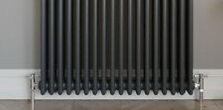 Traditional Colosseum Horizontal Triple Bar Radiator 600 x 800mm Anthracite from ebay